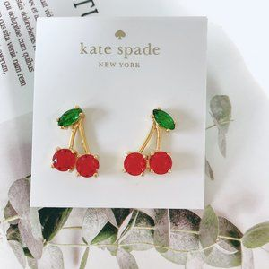 Kate Spade Ruby Inlaid Earrings